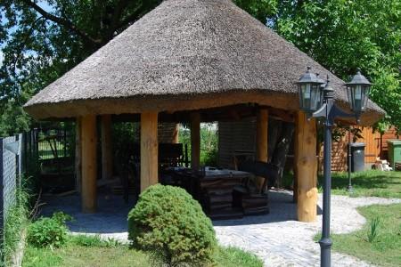 Altana ogrodowa w okolicach Radomia