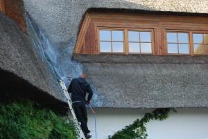trzcina, strzecha, impregnacja strzechy trzcinowej, dachy z trzciny, dachy ze strzechy (3)