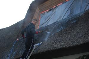 trzcina, strzecha, impregnacja strzechy trzcinowej, dachy z trzciny, dachy ze strzechy (9)
